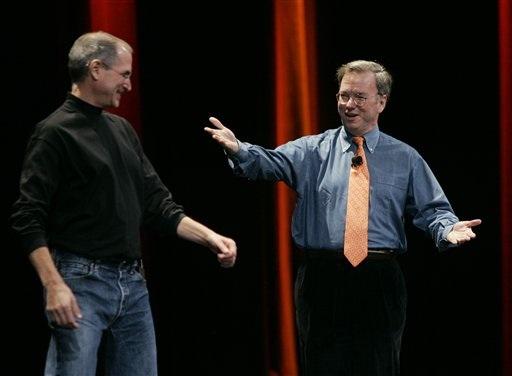MacWorld, Steve Jobs, Google, Eric Schmidt