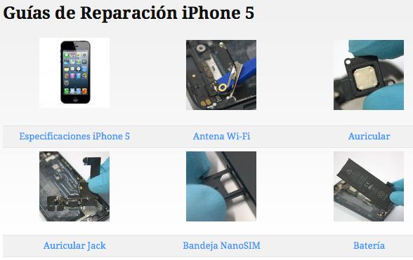 Yepair es una pagina web con guías de reparación para iPhone / iPad y dispositivos de otras marcas