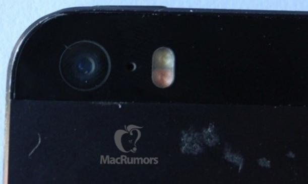 iPhone5S dual flash