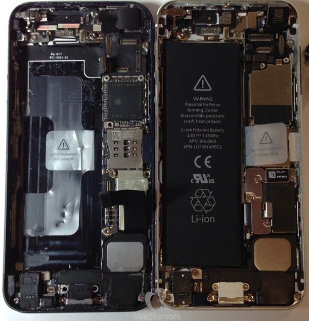 iPhone5S vs iPhone 5