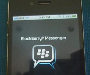 Blackberry Messenger (BBM) disponible desde el 27 de junio para iPhone y Android (Imágenes de BBM en iPhone)
