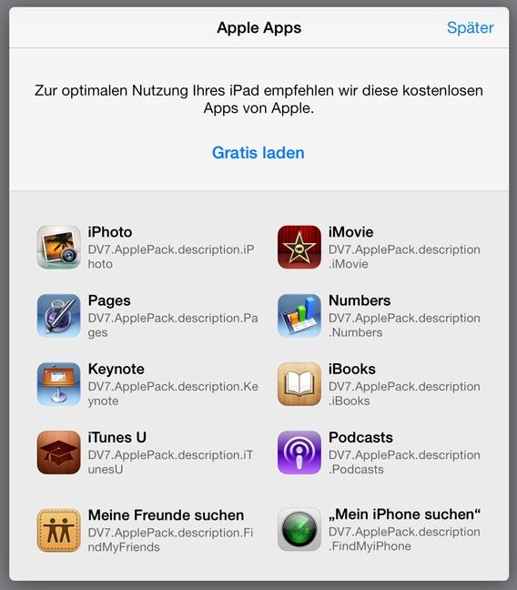 iWrok Gratis iOS 7