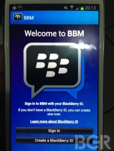 BBM Android3