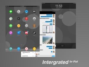 Intergrated iPad