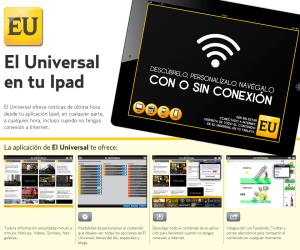 el universal ipad