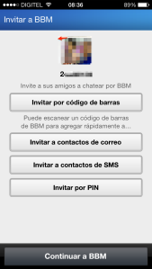 bbm para iphone