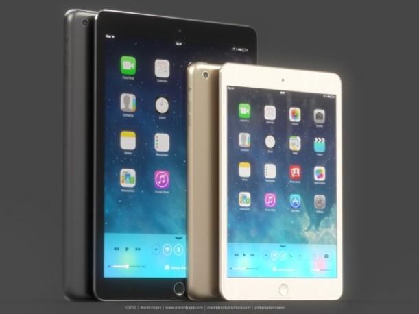 iPad mini dorado1