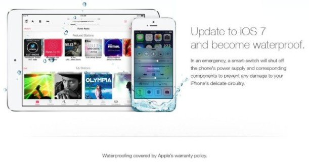 iPhone contra agua