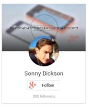 sonny dickson