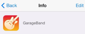 Garagae Band icono nuevo