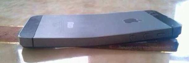 iPhone 5s doblado