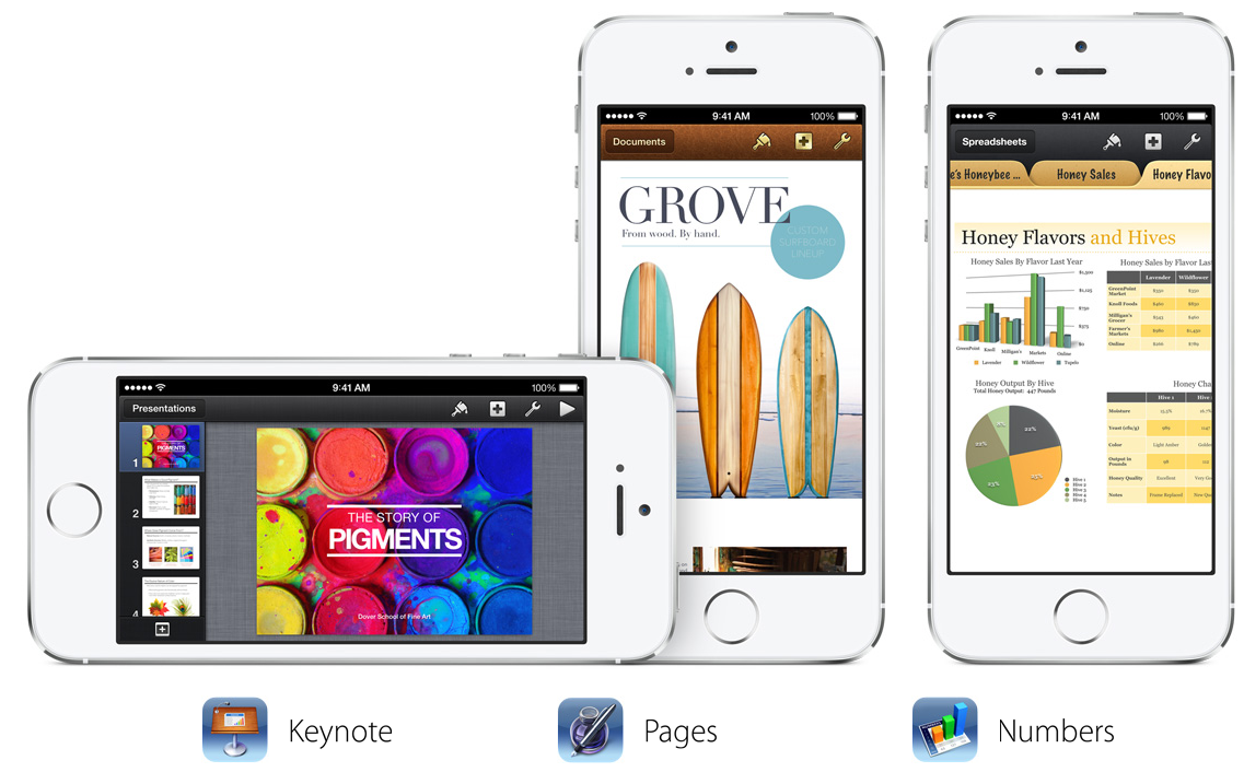 Pages, Keynote, Numbers y iMovie se actualizan con muchas novedades ...