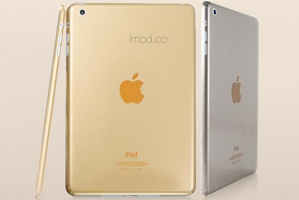 iPad dorada