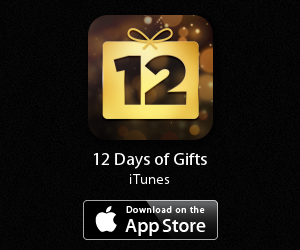 banner 12 days of gifts