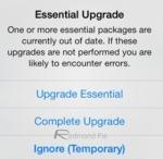Essential Upgrade