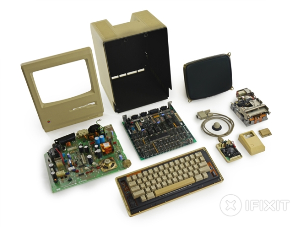 ifixit 128kb Macintosh 1984