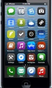 iOS 7 Wood