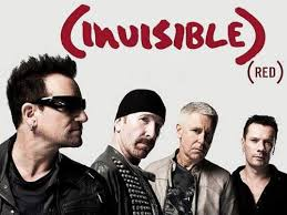 red invisible u2